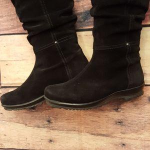 La Canadienne suede women winter boots